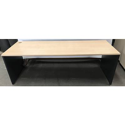Veneer Office Desk