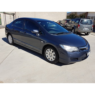 4/2007 Honda Civic VTi MY07 4d Sedan Grey 1.8L