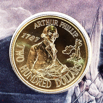 1987 Australia 22ct Gold Two Hundred Dollar Proof Coin