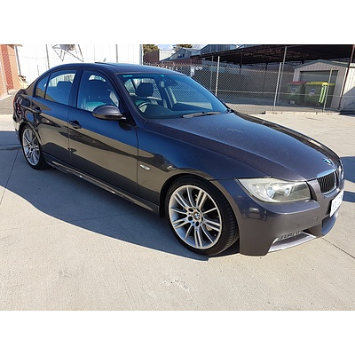 6/2007 BMW 323i E90 07 UPGRADE 4d Sedan Grey 2.5L