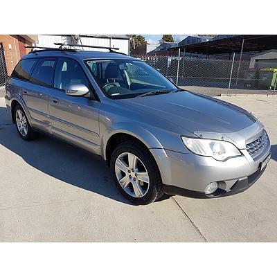 1/2008 Subaru Outback 2.5i Luxury Edition MY08 4d Wagon Silver 2.5L