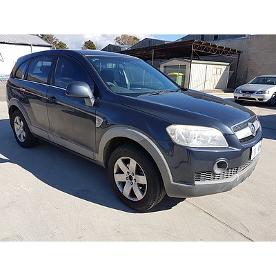 5/2007 Holden Captiva CX (4x4) CG 4d Wagon Grey 3.2L