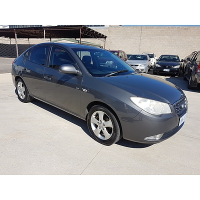 5/2007 Hyundai Elantra Elite HD 4d Sedan Grey 2.0L