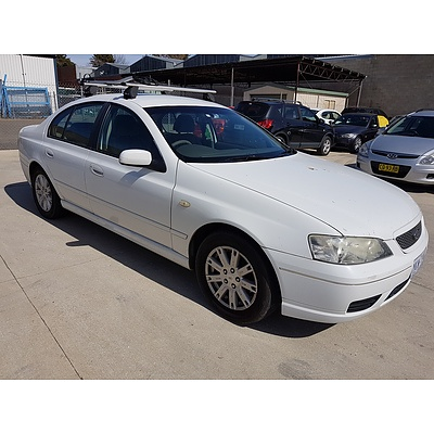 3/2006 Ford Falcon Futura BF 4d Sedan White 4.0L