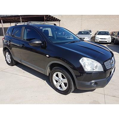 1/2008 Nissan Dualis Ti (4x4) J10 4d Wagon Black 2.0L
