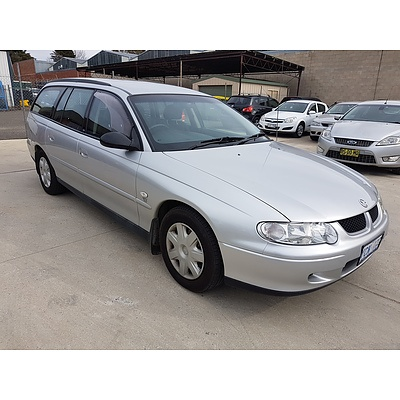 1/2002 Holden Commodore Acclaim VXII 4d Wagon Silver 3.8L