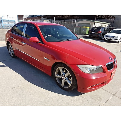5/2005 BMW 320i Executive E90 4d Sedan Red 2.0L