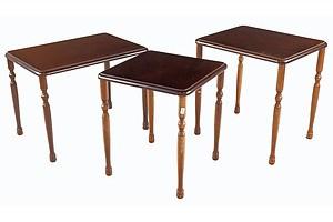 Three Vintage Side Tables