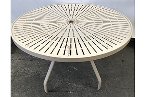 Circular Outdoor Table
