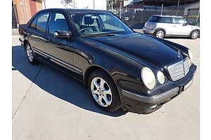 3/2002 Mercedes-Benz E200k Elegance W210 4d Sedan Black 2.0L