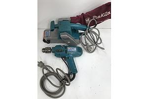 Makita Hammer Drill and Belt Sander