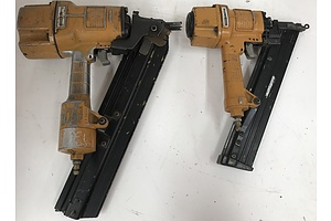 Stanley Bostitch Air Powered Nail Guns -Lot Of Two
