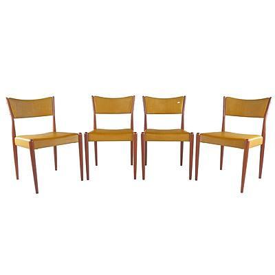 Four Parker Tasmanian Blackwood Dining Chairs (4)