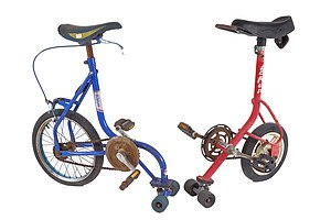 Two Vintage Skate Cycles (2)