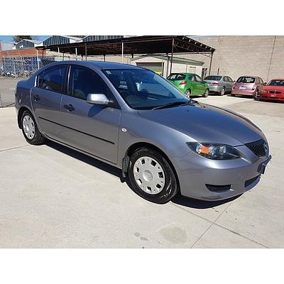 6/2004 Mazda Mazda3 NEO BK 4d Sedan Grey 2.0L