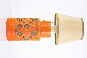 Retro Italian Ceramic Lamp, Possibly Bitossi