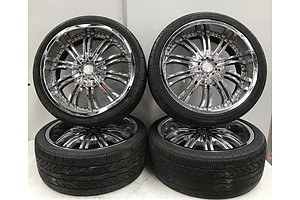 Chrome 22 Inch G2 Wheels