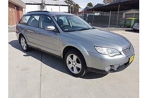 3/2008 Subaru Outback 2.5i MY08 4d Wagon Silver 2.5L