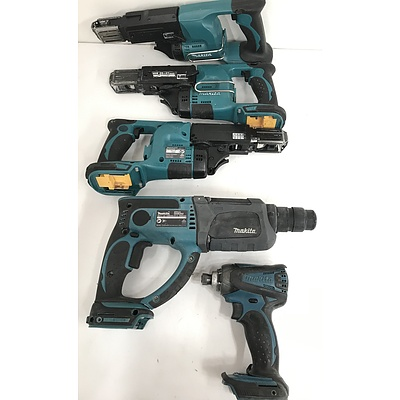 Makita Cordless Tools -Lot Of Five