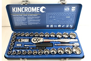 KinCrome Imperial/Metric Socket Set
