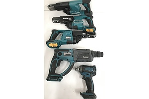 Makita Cordless Tools -Lot Of Five