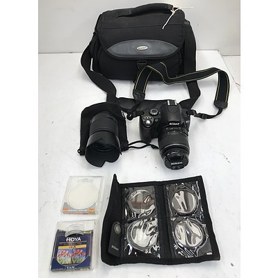 Nikon D40 digital Camera and Accessories