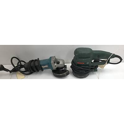 Bosch and Makita Electric Power Tools