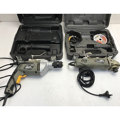 Rockwell Electric Angle Grinder and Drill