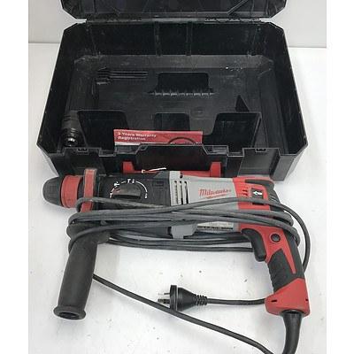 Milwaukee Electric Rotary Hammer Drill