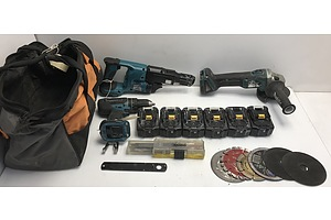 Makita Cordless Tool Kit