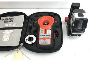 Black&Decker Stud Finder/Laser Level and Neo Laser Level