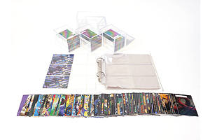 The Phantom 1996 King Features Syndicate Intrepid Complete Base Sets x4 and 3 Phantom Promo Cards (Comic Images)