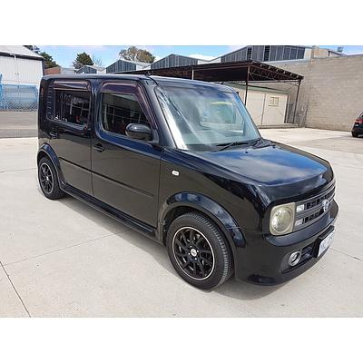 7/2005 Nissan Cube 3 Wagon Black 1.5L