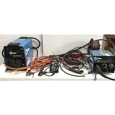 Miller XMT 350 cc/cv Arc and Mig Welding Kit