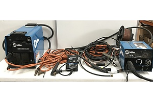 Miller XMT 350 cc/cv Arc and Mig Welding Kit
