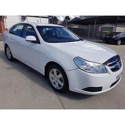 5/2007 Holden Epica CDX EP 4d Sedan White 2.5L