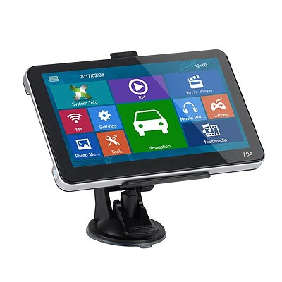 5 inch GPS & Wireless Reversing Camera with Night Vision Bluetooth & Australian Maps - Brand New