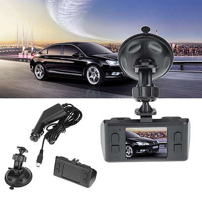 "2"" HD Car DVR Dashcam with TFT LCD Screen, High Resolution - Brand new"
