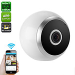 360-Degree HD Wireless IP Camera with Motion Detection Night Vision App Support and SD Card Recording - Brand New