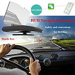 6.5 Inch Vehicle GPS HUD Head Up Display Mobile Holder for Smart Phone - Brand New