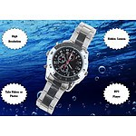 8GB HD Waterproof Spy Camera Watch with built in Digital Video Recorder - Brand New
