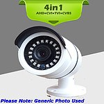 HD CCTV Camera with 4in1 TVI AHD CVI Analogue Infrared Weatherproof - Brand New