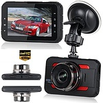"3"" HD 1080P Car Dashboard Camera, Motion Detection, Night vision, G-sensor"