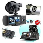 Dual Lens Car DVR with GPS Module & 3D G-Sensor - RRP $299 - Brand New