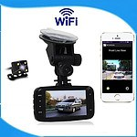 New Release Wi-Fi Dashboard with Dual Front & Rear Cameras - Brand New + 'image'