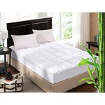 Royal Comfort 1000GSM Luxury King Bamboo Topper in 5cm Gusset Sheet - RRP $209 - Brand New