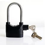 Siren Alarm Padlock 110db - RRP $74.95 - Brand New