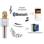Q7 Wireless Bluetooth MicroPhone Sing Karaoke with SmartPhone PC and Media Player - with Warranty