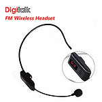 Digitalk FM Wireless Headset - with Warranty