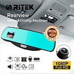 Ritek Full HD 1080 CRMT 01 Rearview Mirror & Driving Recorder - with Warranty + 'image'